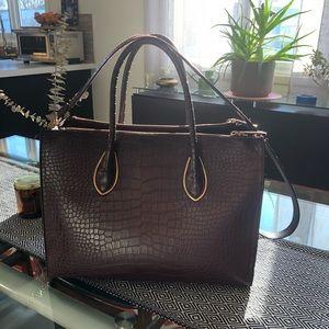 3/20$ Burgundy professional handbag